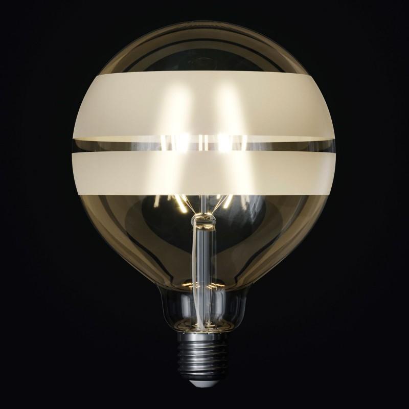 Lampadina LED Globo G125 Filamento Corto Linea Tattoo Lamp® Modello Saturn 4W E27 2700K