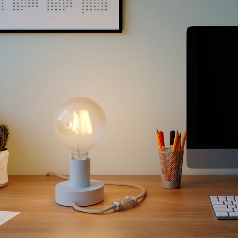 Lampadina LED Globo G125 Filamento Corto Linea Tattoo Lamp® Modello Otto 4W E27 2700K