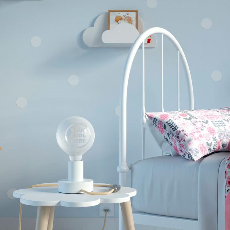 Lampadina LED Globo G125 Filamento Corto Linea Tattoo Lamp® Custom Design 4W E27 2700K