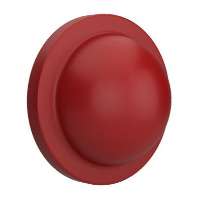 Mezza palla rossa, accessorio per portalampada Magnetico Plug