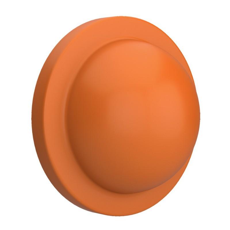 Mezza palla arancio, accessorio per portalampada Magnetico Plug