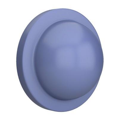Mezza palla blu, accessorio per portalampada Magnetico Plug