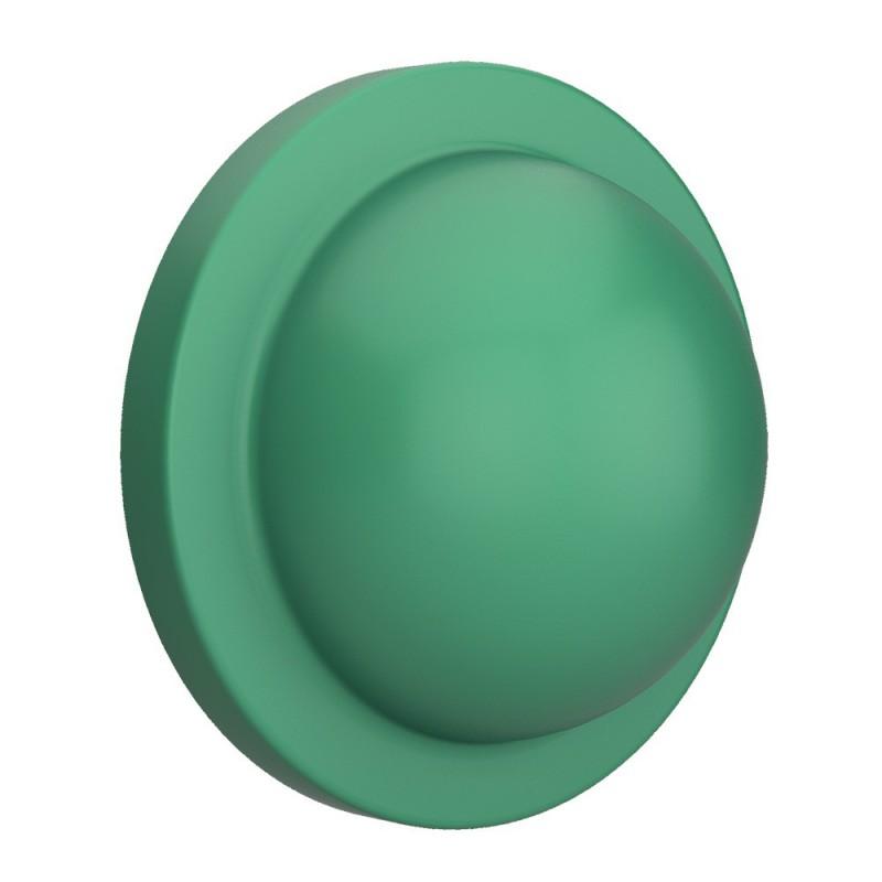 Mezza palla verde, accessorio per portalampada Magnetico Plug