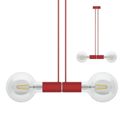 Sospensione magnetica doppia rosso