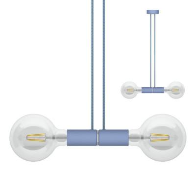 Sospensione magnetica doppia blu