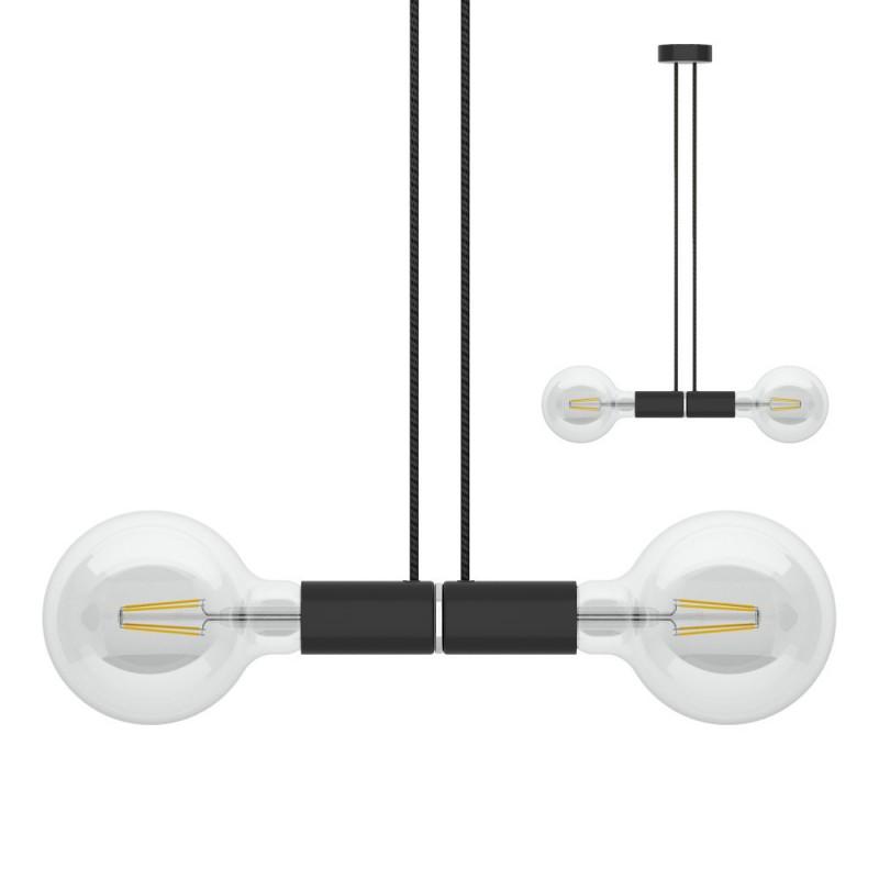 Sospensione magnetica doppia nera