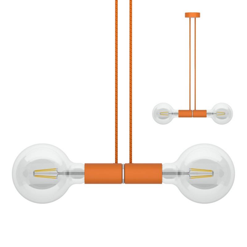 Sospensione magnetica doppia arancione