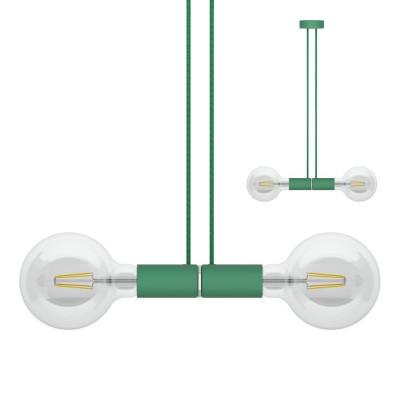 Sospensione magnetica doppia verde
