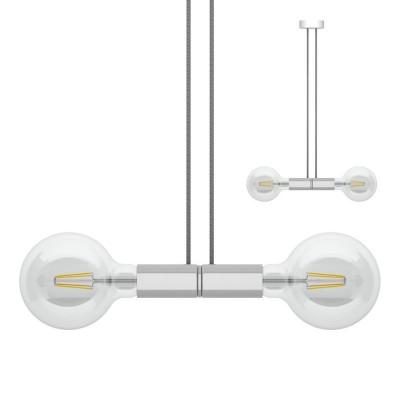 Sospensione magnetica doppia satinata