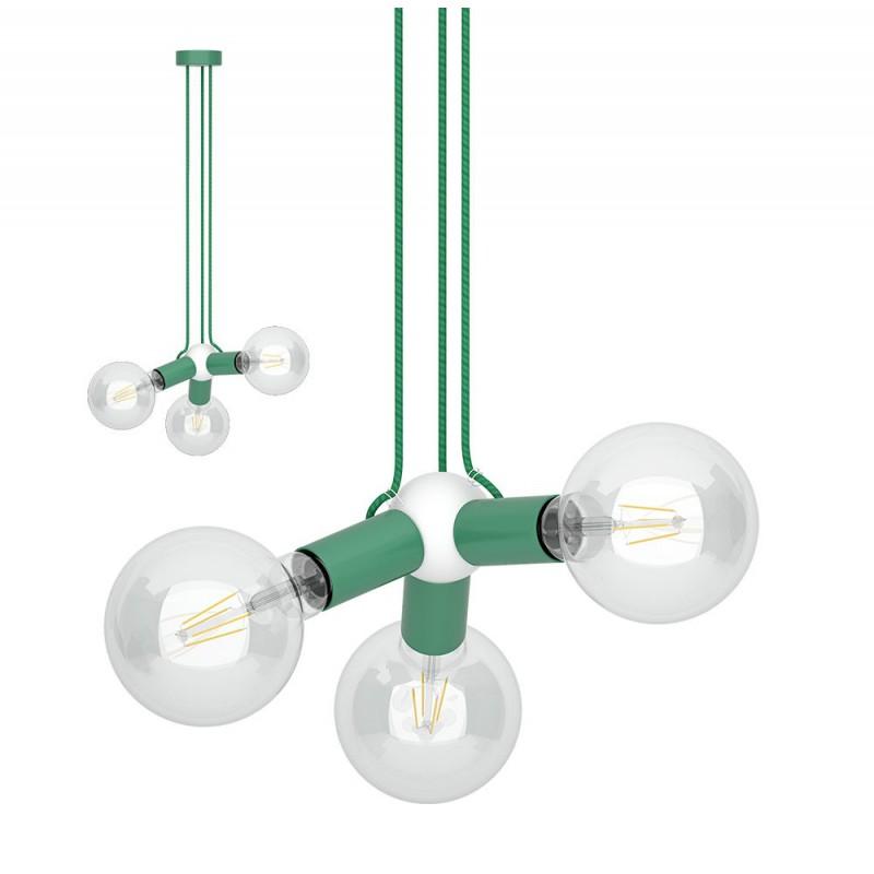 Sospensione magnetica tripla verde
