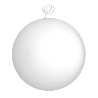 Palla bianca, accessorio per sospensioni magnetiche