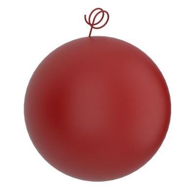 Palla rossa, accessorio per sospensioni magnetiche