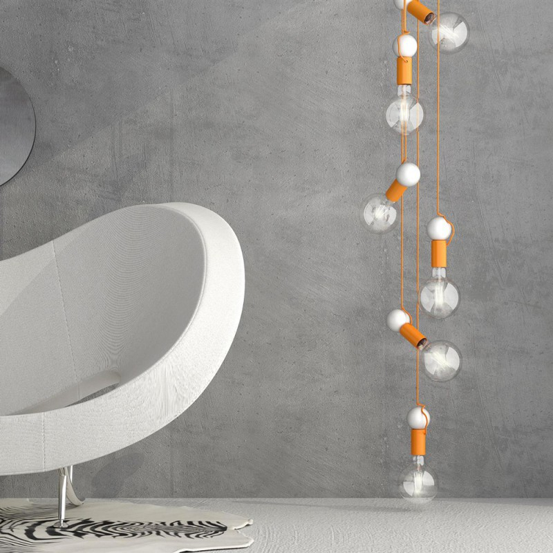 Palla arancione, accessorio per sospensioni magnetiche