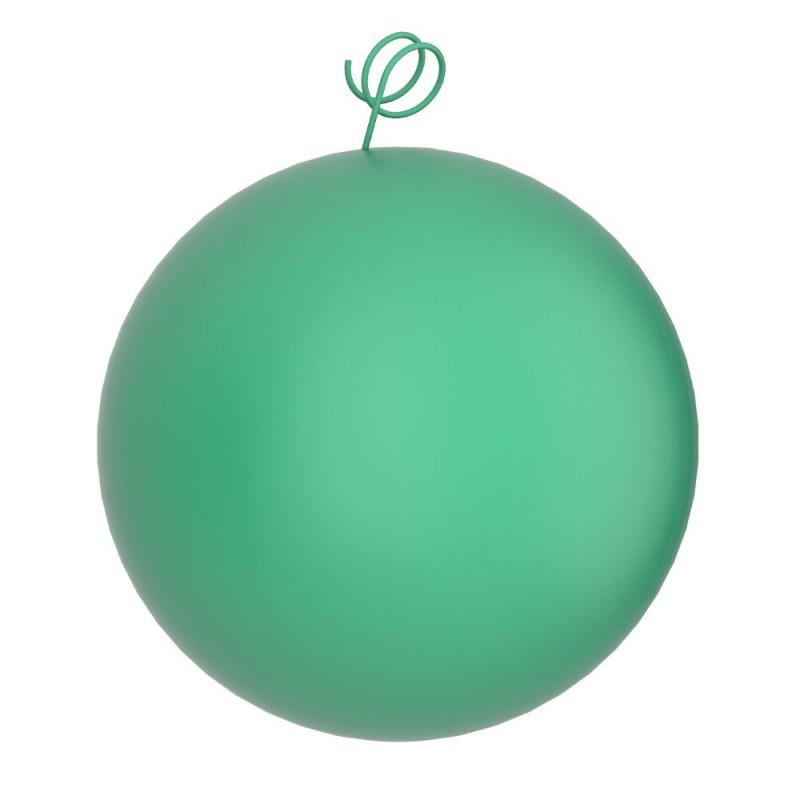 Palla verde, accessorio per sospensioni magnetiche