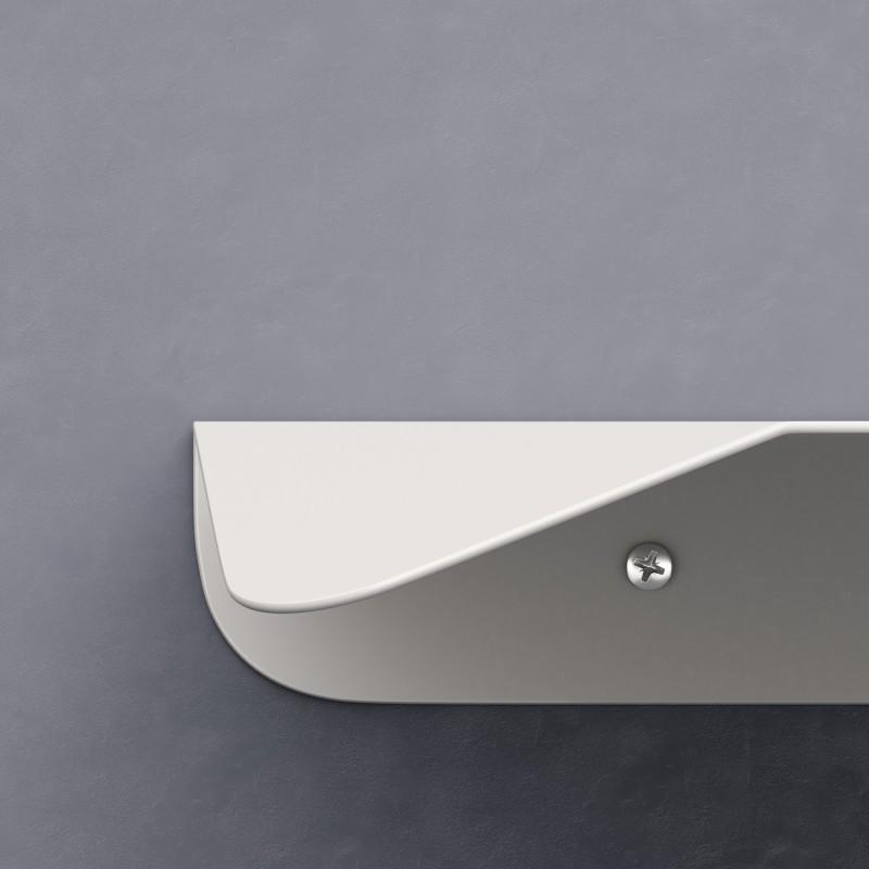 Mensola Magnetica bianca, accessorio per portalampada Magnetico Plug