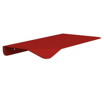 Mensola Magnetica rossa, accessorio per portalampada Magnetico Plug