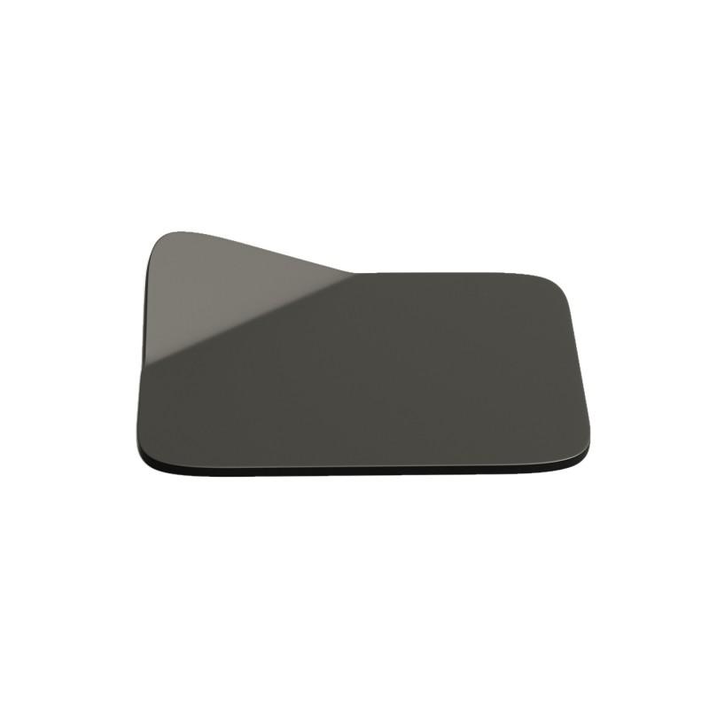 Magnetico Base, portalampada magnetico nero con base in tinta e cavo tessile nero, presa e accenditore trasparente.