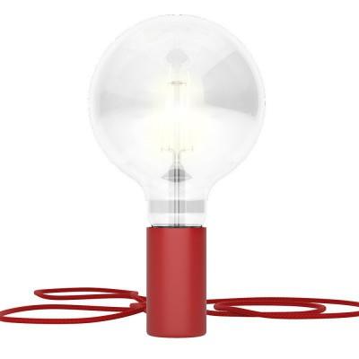 Magnetico®-Plug Rosso, portalampada magnetico pronto all'uso
