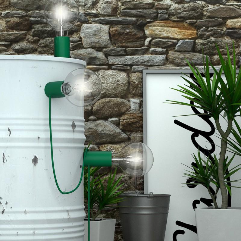 Magnetico®-Plug Verde, portalampada magnetico pronto all'uso