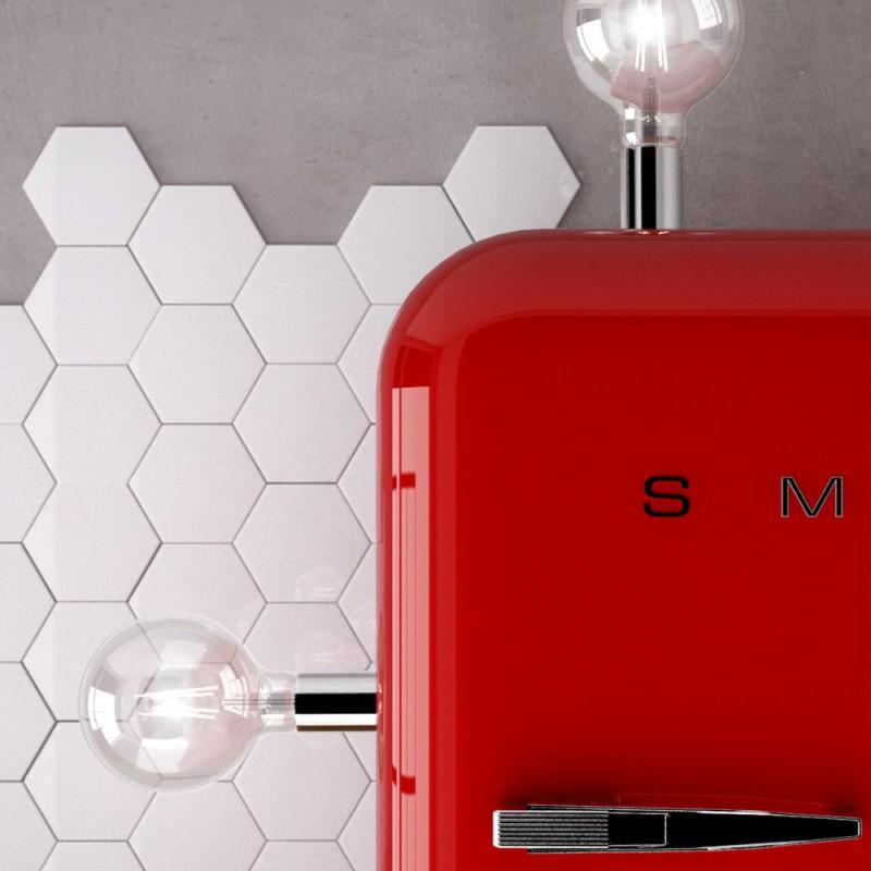 Magnetico®-Plug Satinato, portalampada magnetico pronto all'uso