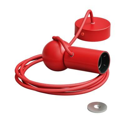 Sospensione magnetica rossa