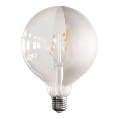 Lampadina LED Globo G125 Filamento Corto Linea Tattoo Lamp® Modello Half 4W E27 2700K